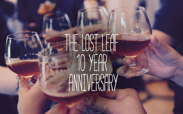 Celebration- The Lost Leaf's 10 year Anniversary