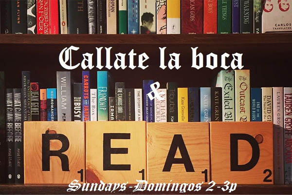 Libros– Cállate la boca & Read