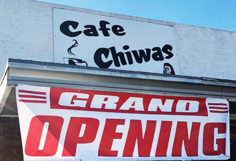 Cafe Chiwas is Open for Business!